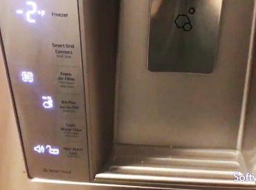 Resetting Water Filter Light on LG Refrigerator