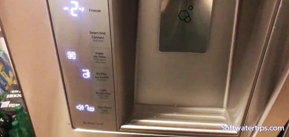 Resetting Water Filter Light on LG Refrigerator