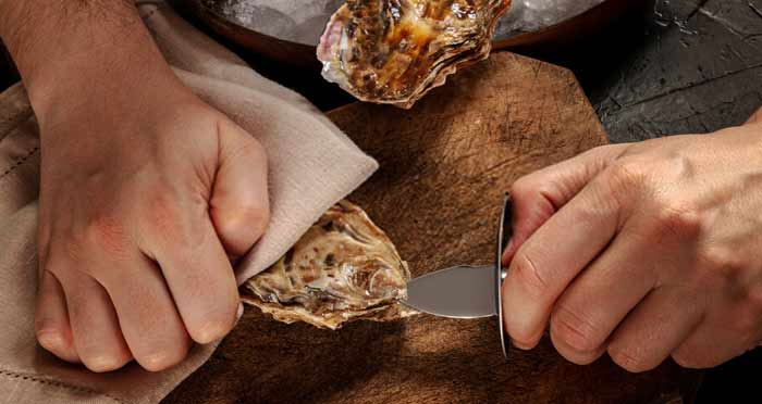 oyster-shucking