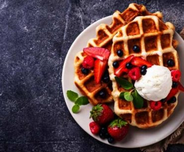 healthy-oats-waffles-recipe