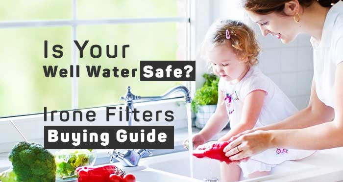 iron filters for well water buying guide