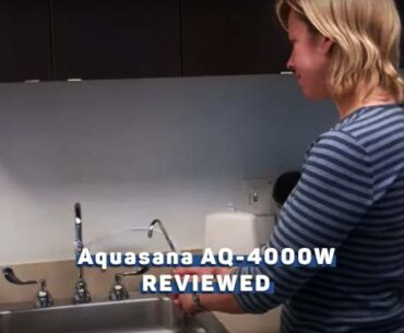 Aquasana AQ-4000W Countertop Drinking Water Filter
