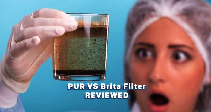 PUR Vs Brita Faucet Filter Comparison [2020]
